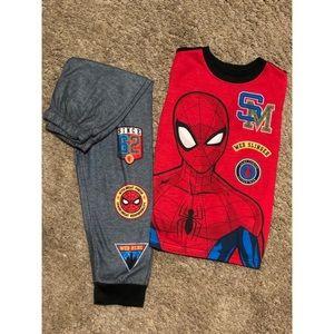 Spider-Man PJ set
